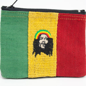 Purse Hemp Rastaman Zip