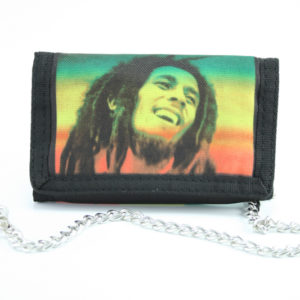 Wallet Fabric Chain Rastaman Soccer