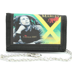 Wallet Fabric Chain Jamaica Flag