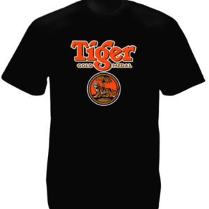 Tiger Beer Singapore Black Tee-Shirt