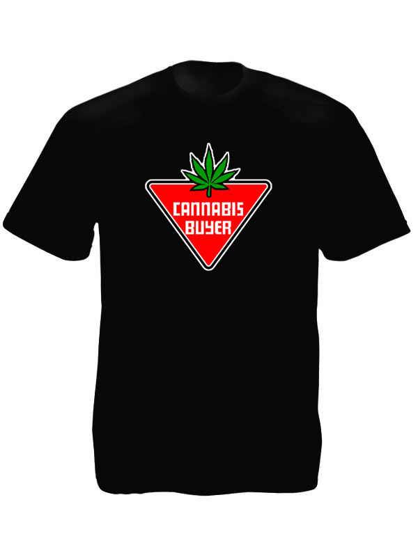 Cannabis Buyer Black Tee-Shirt