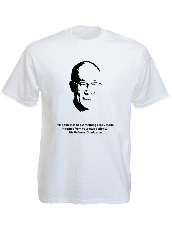 Dalaï-Lama White Tee-Shirt