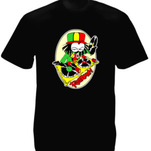 Rastaman Dready Black Tee-Shirt