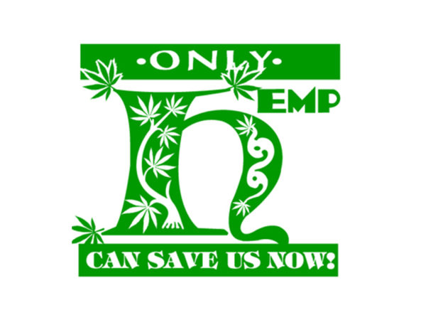 Only Hemp can Save us Now White Tee-Shirt