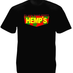 Hemp Brand Black Tee-Shirt