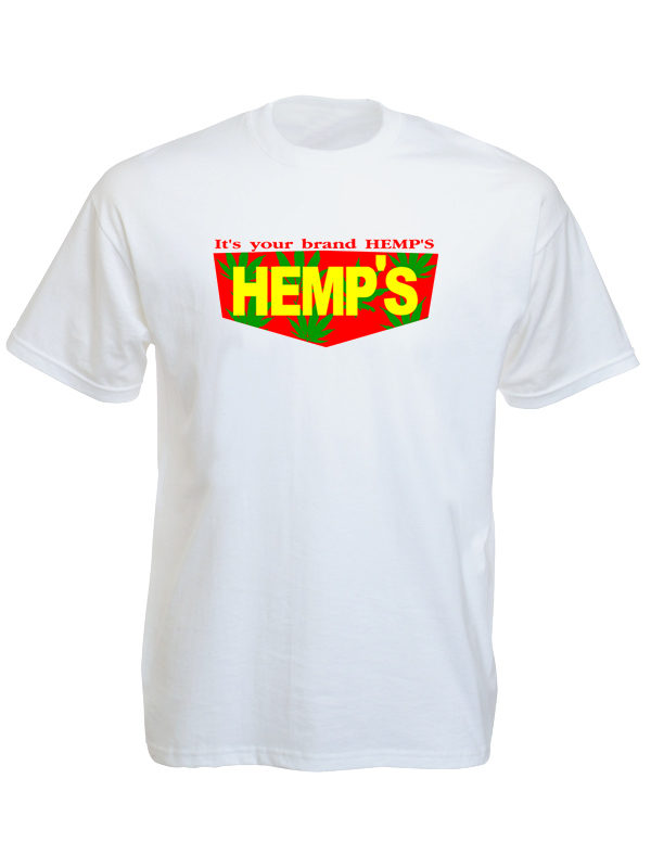 Hemp Brand White Tee-Shirt