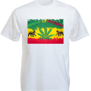 House of Reggae White Tee-Shirt