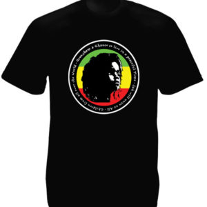 Rasta Kid for Peace Black Tee-Shirt