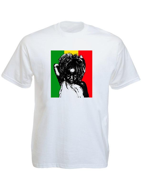Rastababy Rasta Kid White Tee-Shirt