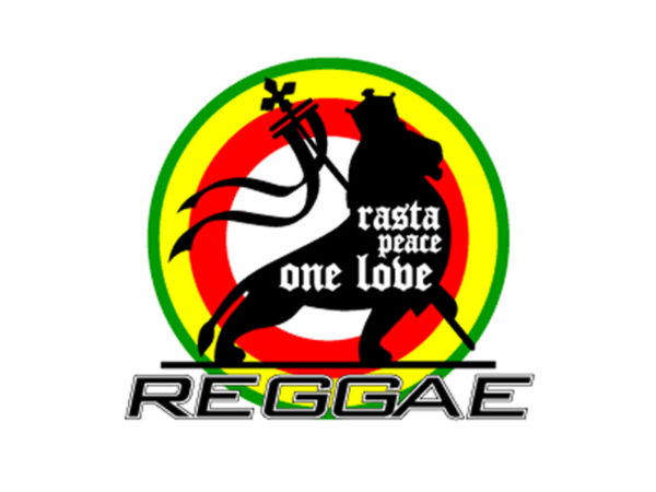 Rasta Peace One Love Reggae White Tee-Shirt