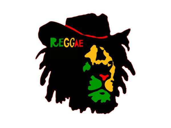 Reggae Colors Lion of Judah Face White Tee-Shirt