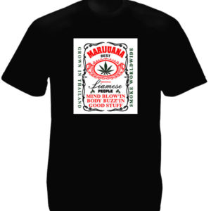 Thailand Best Marijuana Black Tee-Shirt