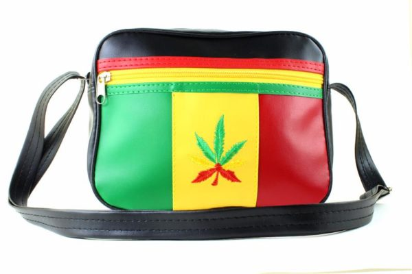 Bag Vinyl Green Yellow Red Style Lacoste Travel