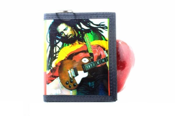 Wallet Vinyl Rastaman Guitar