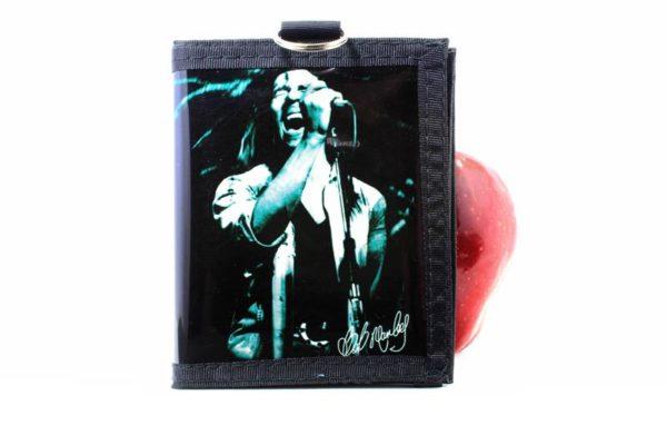 Wallet Vinyl Rastaman Photo Black and White