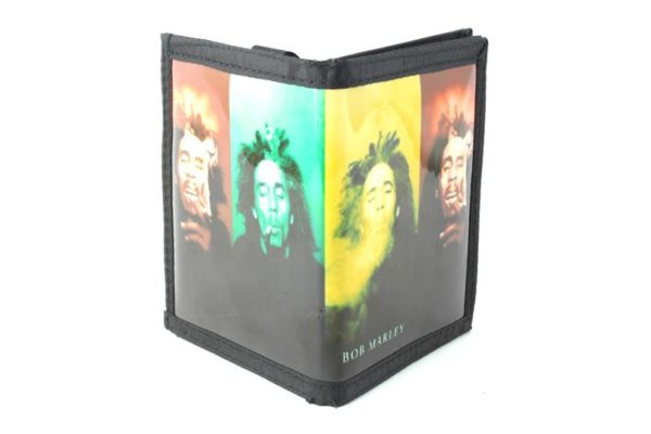 Wallet Vinyl Rastaman Smoking Weed