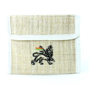 Wallet Hemp White Lion of Judah