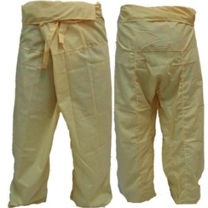 Trousers Thai Fisherman Pants Yellow